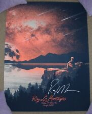 RAY LAMONTAGNE Autographed Signed concert gig poster MOBILE 10-28-14 monkeyink