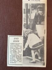 H1b Ephemera 1968 Picture Princess Grace Monte Carlo Stephanie Shopping