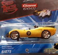 """Carrera Go 61075 SPEED RACER """"RACER X STREET CAR"""" (avec Front Lumière) champ de courses auto"""