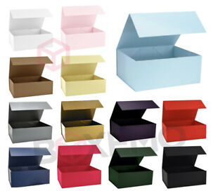 Large Magnetic Gift Boxes, Available In Various Colours & Sizes For Gifts