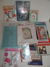 Cross stitch kits lot: cards, stoney creek, smalls