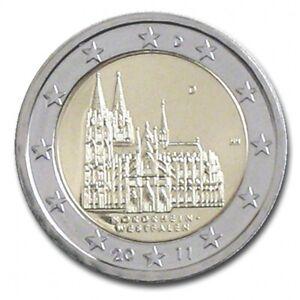 """2 euro commémorative Allemagne 2011 NEUVE UNC  """"lettre aléatoire"""""""