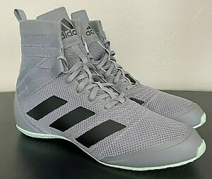 Adidas Speedex 18 Grey Boxing Shoes EG1033 - Men's 11 - New
