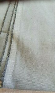 LOAF CLEVER LINEN SAFE GREY UPHOLSTERY FABRIC SEE SIZES BELOW .