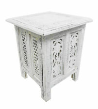 Square Wooden Asian/Oriental Side & End Tables