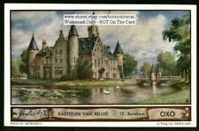 Belgium Castle Marnix - Bornhem 1930s Trade Ad Card