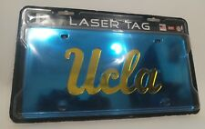 UCLA Bruins License Plate Mirror Finish High Quality Blue & Gold Car Tag