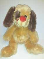 "Homerbest Brown Heart Face  Dog  13"" Plush Stuffed Animal"