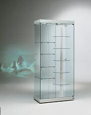 Vetrina Vetrinetta Espositore Display Showcase vetro girevole motore NERO