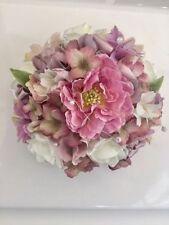 Mixed Bouquet Silk Wedding Flowers, Petals & Garlands
