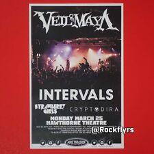 Veil Of Maya 2019 Original 11x17 Concert Promo Poster. Portland Or.