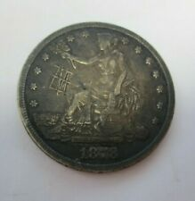 1878-S Trade Dollar XF Details (Graffiti)