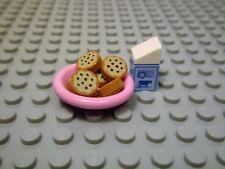 LEGO - FRIENDS /  NEW 8pc. Food set -- Cookies & Milk