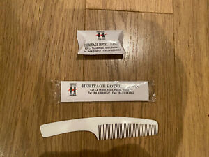 New Soap, Comb By Heritage Hotel Hanoi, Vietnam collectors items travel