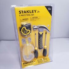 Stanley Jr. 5-Piece Kids Tool Set with Real Tools for Kids - Construction Tools