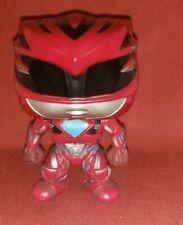 Funko POP! Figure THE MOVIE Power Rangers RED RANGER #400 no box!