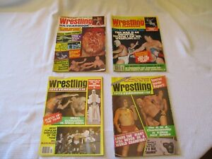 Victory Sports Series, Lot of 4, Wrestling Yearbooks! Vintage California find.