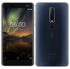 """Nokia 6.1 2018 Doble Sim 32GB + Desbloqueado + 3GB Ram 5.5"""" pulgadas 3000mAh HD Teléfono inteligente"""