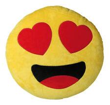 Plüschkissen Heart Ca. 30x37cm Plüsch Kissen Dekokissen Emoji #5886