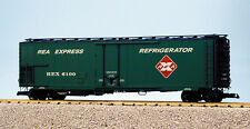 Usa Trains G Scale 50' Mechnanical Reefer R16723 Railway Express Agency - Green