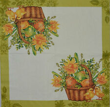 PAPER TABLE NAPKINS FOR CRAFT VINTAGE EASTER BASKET DECOUPAGE TEA PARTIES 289