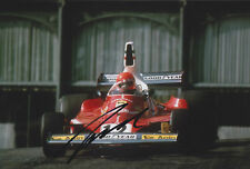 Niki Lauda Ferrari Hand Signed Photo 12x8 2.
