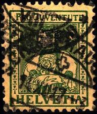 SVIZZERA - 1917 - Pro Juventute. Costumi cantonali