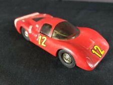 Vintage Eldon 1/32 Scale P-3 Red Ferrari Slot Racing Car