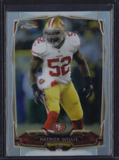 2014 TOPPS CHROME REFRACTOR PATRICK WILLIS #8 49ERS MISSISSIPPI REBELS