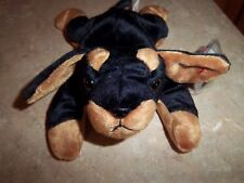 Ty Beanie Baby Doby - (Dog Doberman 1996) With Tags - Excellent Condition!