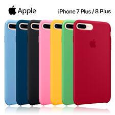 Funda silicona suave iPhone 7 Plus/8 Plus Apple Silicone case microfibras