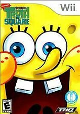 SpongeBob's Truth or Square (Nintendo Wii, 2009) [Complete]