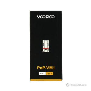 VOOPOO PNP-VM1 MESH COILS 0.3  FOR  VINCI X /VINCI / VINCI R / PACK OF 5 UK