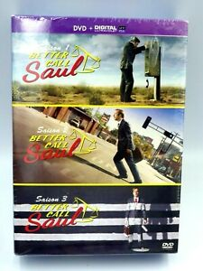 DVD Video Box Better Caul Saul Integral Of Seasons 1-2-3 New Sub Scello