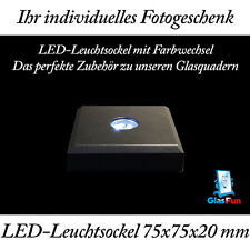 LED Leuchtsockel mit Farbwechsel und Stopfunktion inkl. Batterien