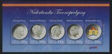 Caribbean Netherlands 2012 Dutch Queens & Heraldry S/S Sc# 33 NH