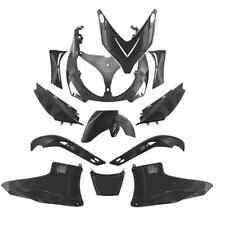 Kit carénage 12 pièces YAMAHA T-MAX 500 TMAX coques noir mat carrosserie NEUF