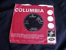 DAVE CLARK FIVE 'Glad All Over' bw 'I Know You' 1963 Columbia DB 7154. Advert