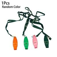 Pigeon Training Whistle Portable Plastic Pet Bird Supplies 3-Colors Random T6Z2