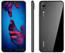 "Huawei P20 - 5.8"" - 128GB-Negro-LTE (Desbloqueado) Teléfono Inteligente-Grado A"
