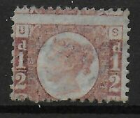 SG48.  1870 1/2d.Rose-Red Plate 13.  Unused (No Gum).   Ref:03104