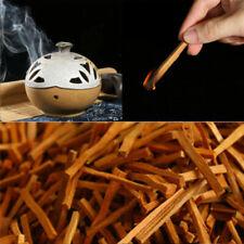 7CM Sandalwood Wood Incense Sticks Irregular Resin Incense TOP Real 50g U8Y1