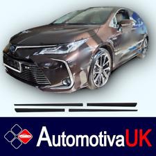 Toyota Corolla Mk12 5D 2018 Rubbing Strips| Door Protectors | Side Mouldings Kit