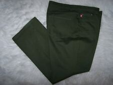 Woman Within Womens Natural Fit Green Denim Size 22W Stretch NWOT With Blemish