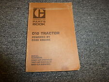 Caterpillar Cat D10 Tractor w/ D348 Engine Parts Catalog Manual S/N 84W 76X 98S