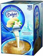 International Delight French Vanilla, 192 Count Single-Serve Coffee Creamers