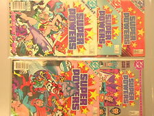Super Powers VINTAGE 1984-85 Lot of 6 Comics Mini-Series Jack Kirby DC Justice!!