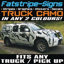 NISSAN NAVARA TRUCK PICK UP CAR CAMO GRAPHICS STICKERS DECALS CAMOUFLAGE L200