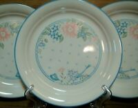 "SET OF 4  - CORNING CORELLE - SYMPHONY - SANDSTONE - 8 1/2"" LUNCHEON PLATES"