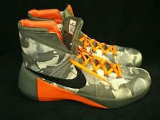 NIKE Hyperdunk 2015 PRM Camo (749567-001) Grey Orange Men's Size 15 [NEW No Box]